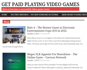 Get Paid Playing Video Games