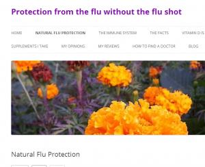 Natural Flu Protection