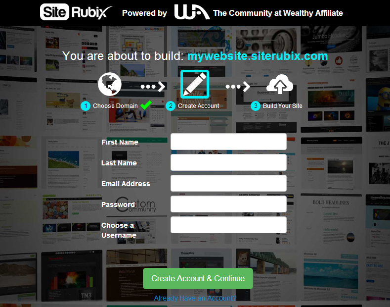 Build A Free Website Without Programming In 4 Easy Steps