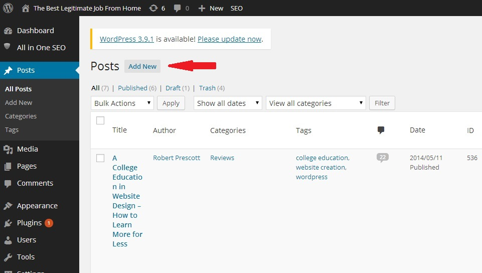 How to Build a Website with WordPress_Posts