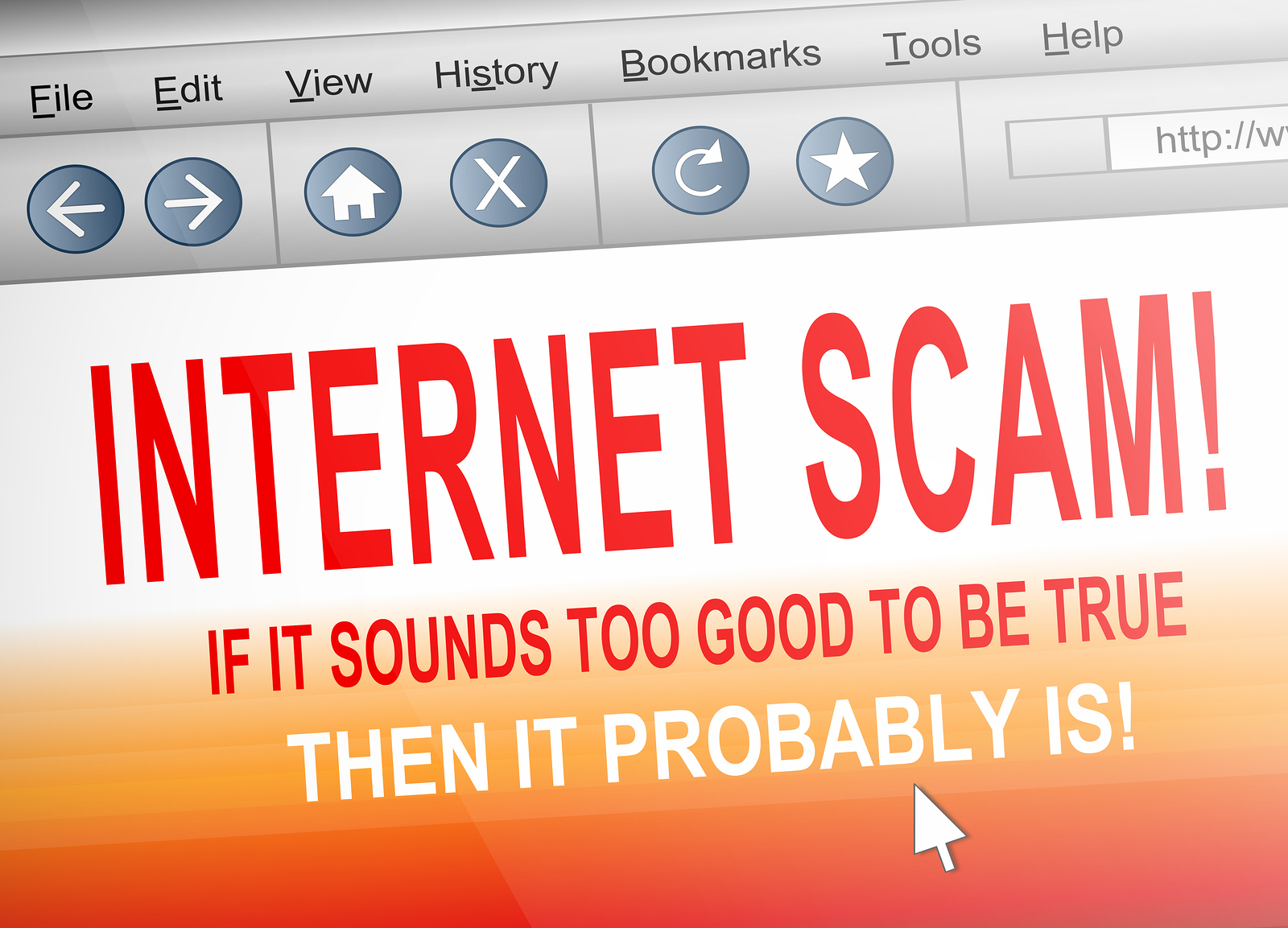 How to Spot Internet Scam