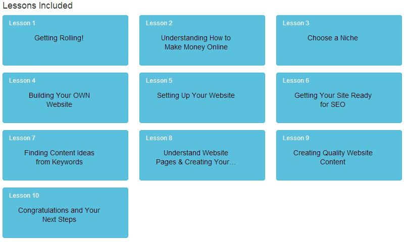 10 Free Wealthy Affiliate Lessons