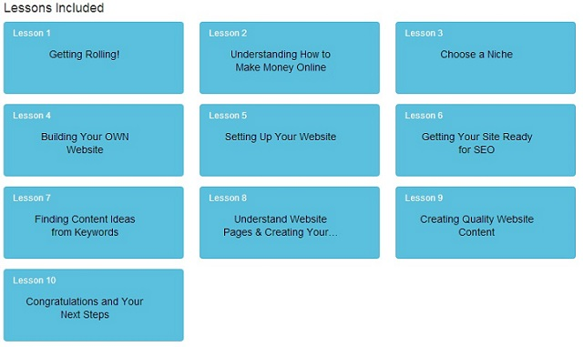 10 Free Affiliate Marketing Lessons at Wealthy Affiliate
