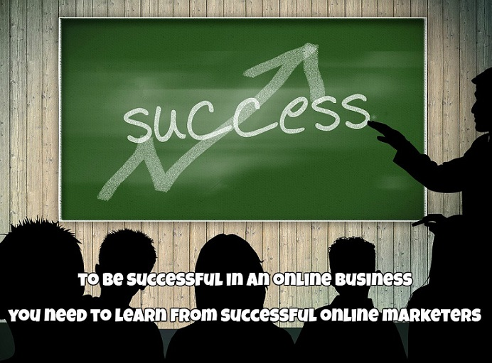 Learn from successful online marketers