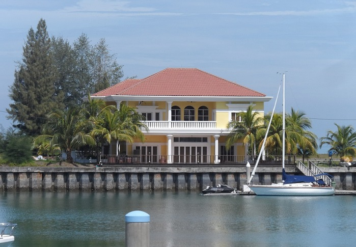 Luxury water front home