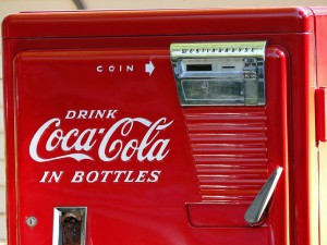 old coca-cola machines