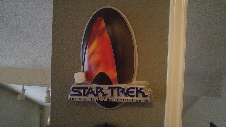 Star Trek items for sale like bideo collection