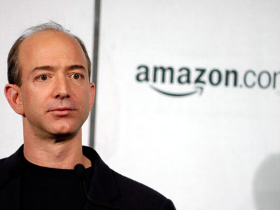 Online entrepreneur and founder of Amazon, Jeff Bezos
