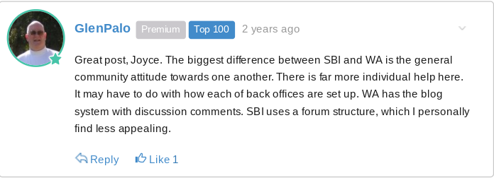 Former SBI member tells why he likes WA better