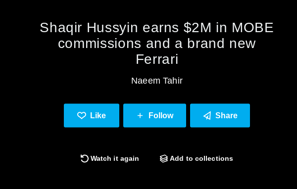 As a Top Earner in the MOBE scam, Shaqir Hussyin reaches $2 Million Dollars and gets a free Ferrari
