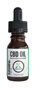 Green Roads CBD Hemp Oil Tincture Dropper Bottle