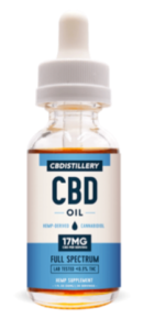 CBDistillery CBD Hemp Oil Tincture Dropper Bottle
