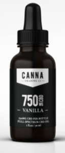 Canna Trading Co CBD Hemp Oil Tincture Dropper Bottle