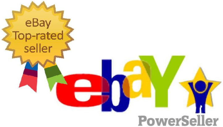 The eBay Top Rated Power Seller Logo