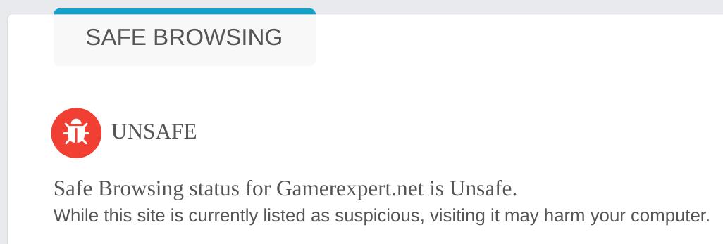 GamerExpert Scam Alert Warning