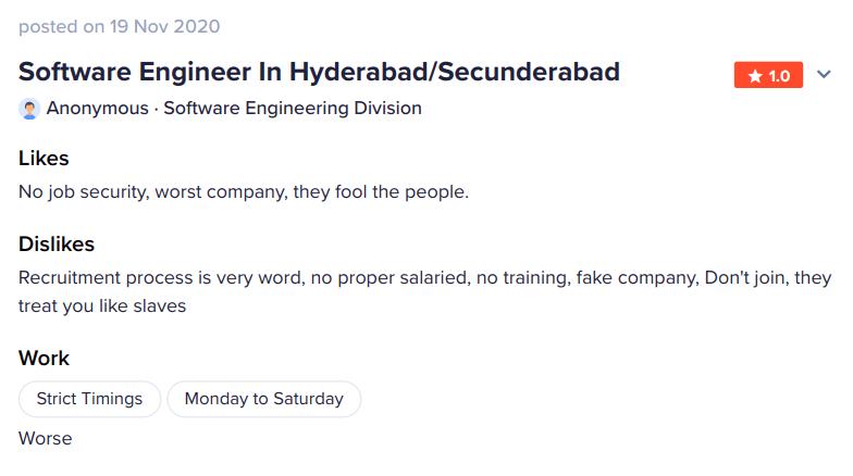 Complaints about OnPassive Hyderabad India